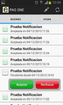 Notificaciones Electrónicas screenshot 2