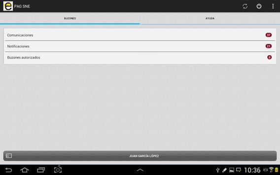 Notificaciones Electrónicas screenshot 7
