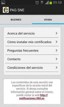 Notificaciones Electrónicas screenshot 4