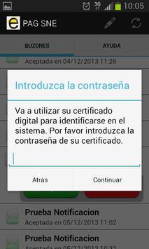 Notificaciones Electrónicas screenshot 5