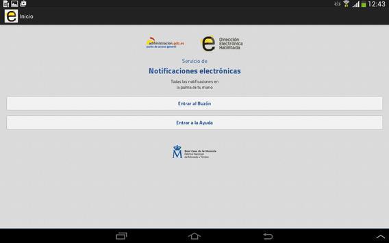 Notificaciones Electrónicas screenshot 6