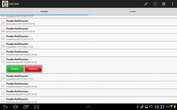 Notificaciones Electrónicas screenshot 8