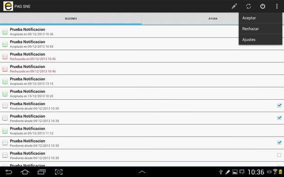Notificaciones Electrónicas screenshot 9