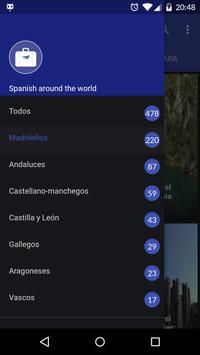 Spanish around the world poster