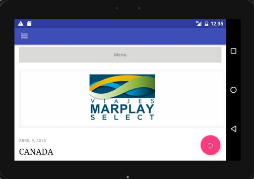 Viajes Marplay screenshot 5