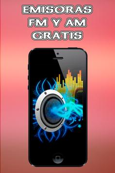 Radio FM AM Gratis Estaciones de Musica Emisoras screenshot 8
