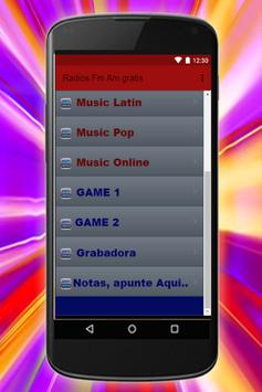 Radio FM AM Gratis Estaciones de Musica Emisoras screenshot 9