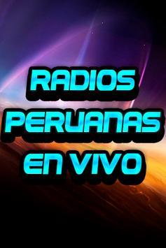 Radios Peruanas en Vivo Emisoras gratis poster