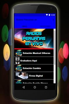 Radios Peruanas en Vivo Emisoras gratis screenshot 2