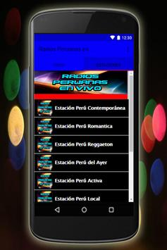 Radios Peruanas en Vivo Emisoras gratis screenshot 9