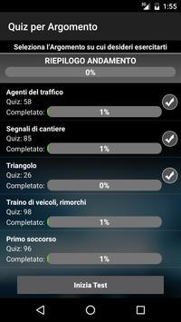 Quiz Patente di Guida Gratis: Esame Patente Auto B apk screenshot