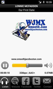 WJMX-DB Smooth Jazz Boston screenshot 4