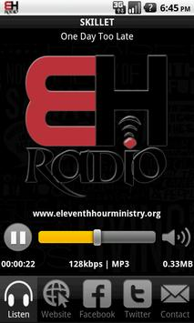 Eleventh Hour Radio poster