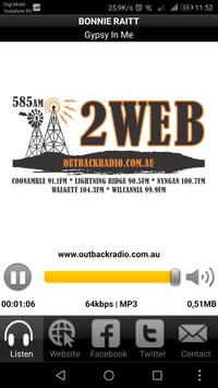 2WEB Outback Radio apk screenshot
