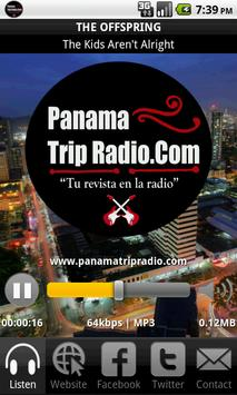Panama Trip Radio poster