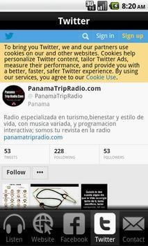 Panama Trip Radio screenshot 2