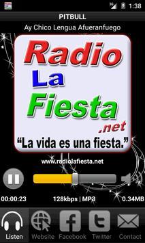 Radio La Fiesta screenshot 2