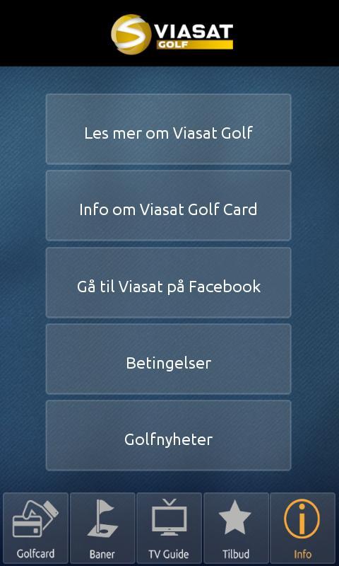 viasat golf i mobilen