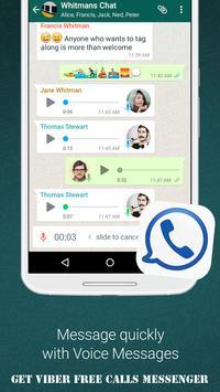 Get Viber Free Calls Messenger apk screenshot