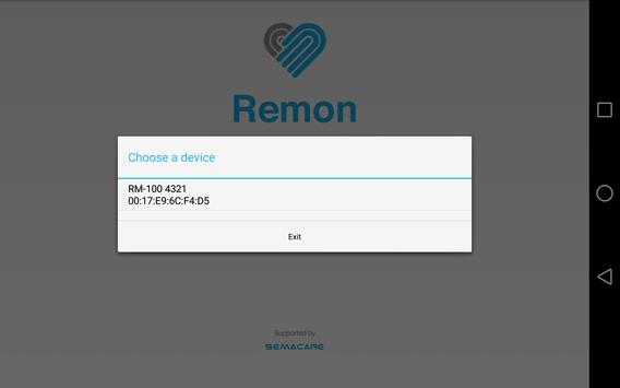 Remon Mini Monitor apk screenshot