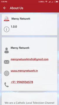 Mercy Network apk screenshot