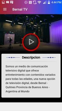 Bernal TV screenshot 1