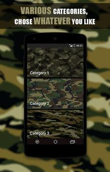 Camo Wallpapers HD screenshot 1