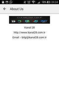 Kanal 28 apk screenshot
