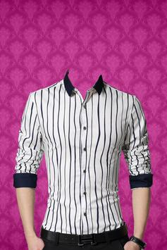 Man Casual Shirt Photo Suit apk screenshot