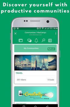 VibeCampo - Discover, Explore & Grow apk screenshot