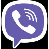 Viber Messenger أيقونة