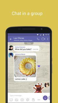 Viber apk imagem de tela