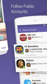Viber Messenger apk تصوير الشاشة