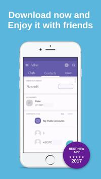 Get New Viber Messenger Free Tricks poster