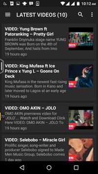 VIBES2LYRICS.COM NIGERIA apk screenshot