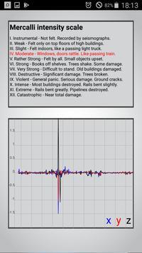 Vibrate & Seismic Meter screenshot 2