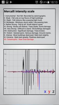 Vibrate & Seismic Meter screenshot 3