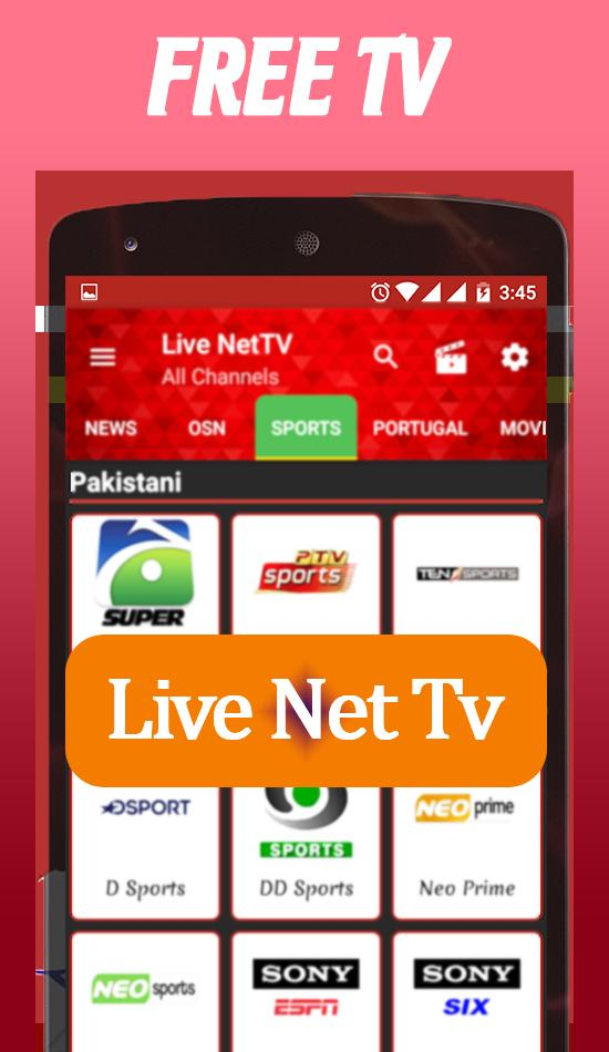 Free Net Tv Live for Android - APK Download