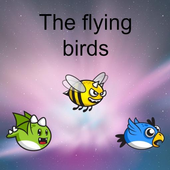 The flying birds icon