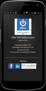IPM+ Pro Battery Saver screenshot 1