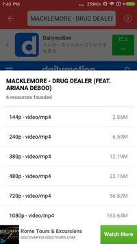 TubeDownloader - video mate apk screenshot