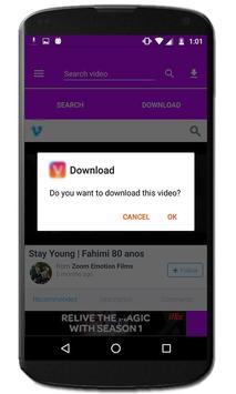 Video downloader-VM apk screenshot
