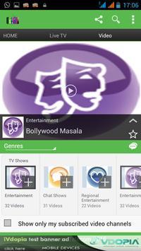Videocon Mobile Tv Live Online apk screenshot