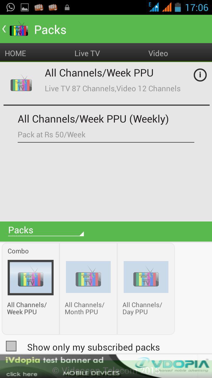 Videocon Mobile Tv Live Online for Android - APK Download