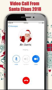 Video Call From Santa Claus 2018 - Tracks Santa screenshot 4