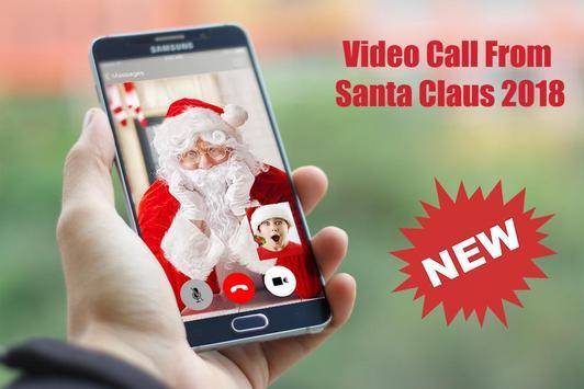 Video Call From Santa Claus 2018 - Tracks Santa poster
