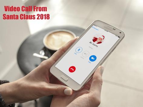 Video Call From Santa Claus 2018 - Tracks Santa screenshot 1