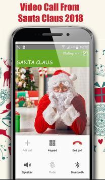 Video Call From Santa Claus 2018 - Tracks Santa screenshot 2