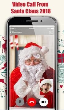 Video Call From Santa Claus 2018 - Tracks Santa screenshot 3