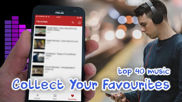 Top 40 Music Chart apk screenshot